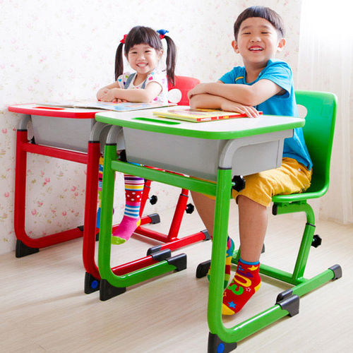 《WSH》WSH日式快樂兒童升降學習桌椅(三色可選)