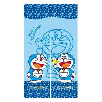 哆啦A夢Doraemon和風長門簾-藍150x85cm(FL802