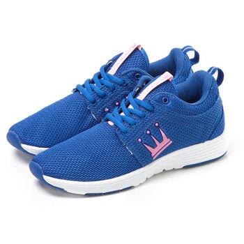 【DADA】LEWIS RUN 復古經典網面高彩慢跑鞋-女(藍TWRT369ZPW)