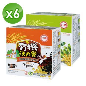 【台糖】有機穀粉6盒(黑寶x3/燕麥x3)