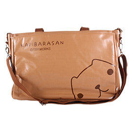 kapibarasan 水豚君甜點系列托特包