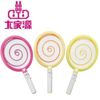【大家源】三層充電式電蚊拍-棒棒糖超Q款TCY-6133(3色)