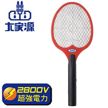 《1+1超值組》【大家源】三層強力電蚊拍TCY-6023(紅)