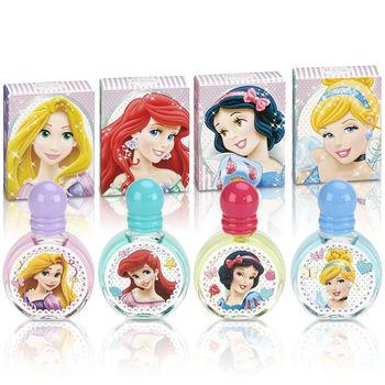Disney 迪士尼 Princess 童話公主嘉年華小香水禮盒4入組II +贈Disney隨機噴霧