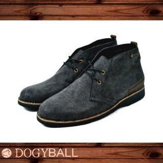 【Dogyball】Discovery經典帆布沙漠靴 (黑色)
