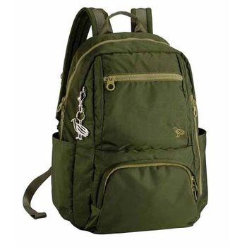 【SUMDEX】NON-674RG 14吋 樂.遊 輕旅電腦後背包(森林綠)
