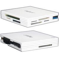 Fujiei USB 3.0 雙SD ^#47 雙Micro SD多 高速讀卡機 ^#45