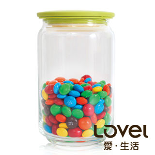 【Lovel】時尚餐廚系列-玻璃真空密封罐750ml(青蘋綠)