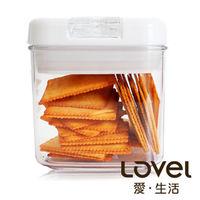 ~Lovel~ 餐廚系列 ^#45 彈壓式真空密封罐500ml ^#40 方 ^#41