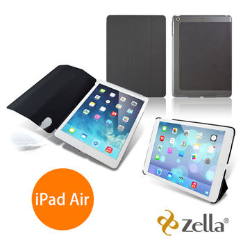 [福利品] Zella iPad Air皮套-灰 Z-Air