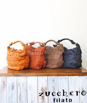 【zucchero filato】日本人氣 牛皮包 編織包 斜背包 肩背包 手提包 2way 皮革 女包【46594】