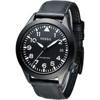 FOSSIL 暗黑勇士 大錶徑腕錶 ^#45 黑 ^#40 AM4515 ^#41
