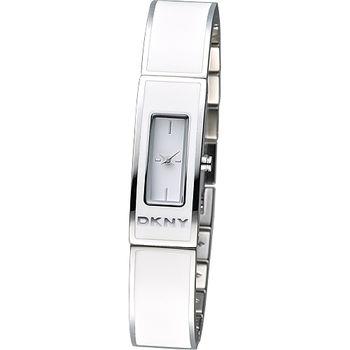 DKNY 新潮紐約風名媛手環錶-白(NY8761)