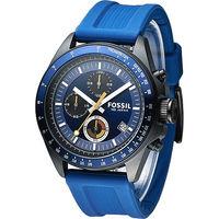 FOSSIL 世紀型男3眼計時 腕錶 ^#45 藍 ^#40 CH2879 ^#41