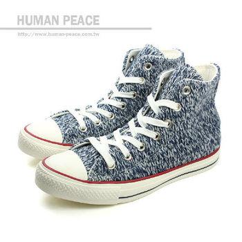 CONVERSE Chuck Taylor All Star 紡織物材質鞋面 保暖 舒適 戶外休閒鞋 藍 女款 no071