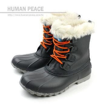 native JIMMY 防水 輕量 舒適 保暖 靴子 戶外休閒鞋 鐵灰 女款 no266