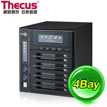 Thecus 色卡司 N4800ECO 4Bay NAS 網路儲存設備