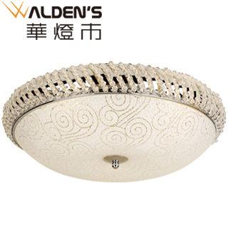 【華燈市】思爾5+1燈水晶吸頂燈(低調奢華款)
