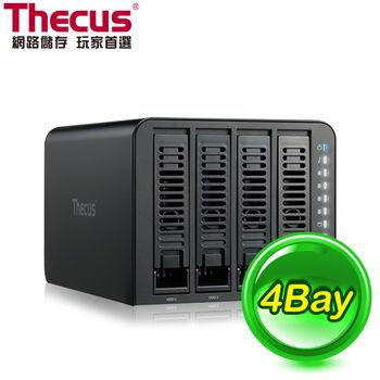 Thecus 色卡司 N4310 4Bay NAS 網路儲存伺服器