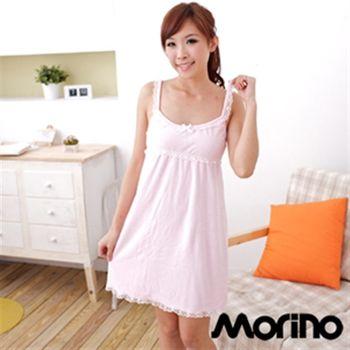 MORINO摩力諾超細纖維蕾絲浴裙(2入組)