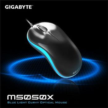 GIGABYTE 技嘉 M5050X人體工學藍光流線滑鼠