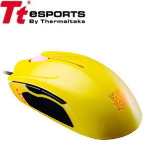 Tt eSports【曜越】聖武士SAPHIRA滑鼠 月光黃