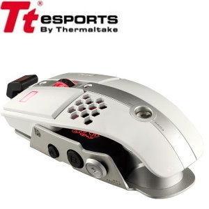 Tt eSports【曜越】LEVEL 10 M滑鼠 皎潔白