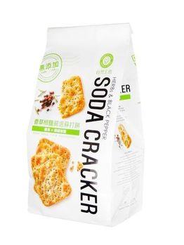 自然主意 香草椒鹽嚴選蘇打餅X2袋