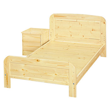【顛覆設計】松木實木單人床架(實木床板)