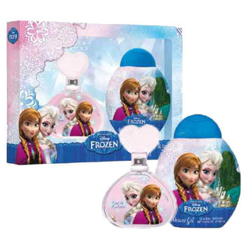 Disney 迪士尼 Frozen 冰雪奇緣 淡香水禮盒 (淡香水100ml / 沐浴 洗髮精300ml)