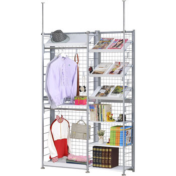巴塞隆納─K63型伸縮屏風衣櫥架展示架置物架