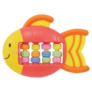 Lucky Baby 固齒器玩具-魚造型
