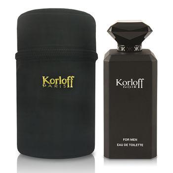 Korloff 黑鑽神話 男性 (PRIVATE) 淡香水 88ml + 包包