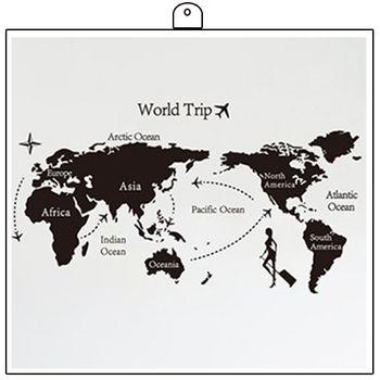 JB 時尚壁貼 - 世界地圖