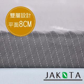 【JAKOTA】奈米竹炭8CM記憶床墊-單人3X6.2尺
