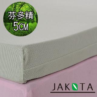 【JAKOTA】芬多精5CM記憶床墊單人3X6.2尺