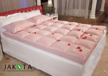 【JAKOTA】天然水鳥羽絲絨健康記憶床墊-單人3X6.2尺