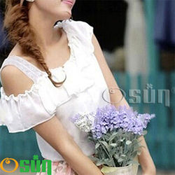 蕾絲小可愛背心 夏季百搭蕾絲雙肩森森購物 東森購物-短版(黑/白 #2051/CE-176C)