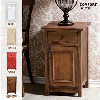 CiS [自然行] 實木家具 巧克力之吻收納矮櫃(咖啡胡桃)