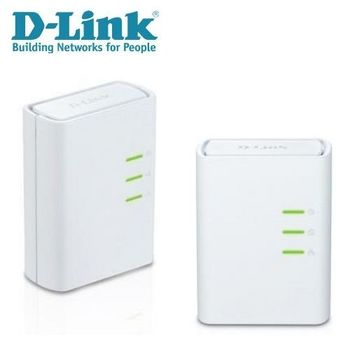 D-Link友訊 DHP-309AV 500Mbps 電源線網路橋接器雙包裝