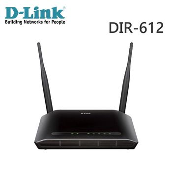 D-Link友訊 DIR-612 Wireless N300 無線寬頻路由器