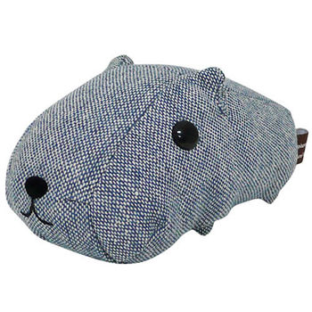 Kapibarasan 水豚君格紋系列盒裝公仔 藍色