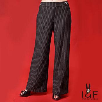 INF全尺碼  直條寬口西裝褲112-4107