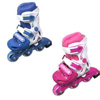 【SUCCESS成功】兒童發光輪伸縮溜冰鞋組-限量款式