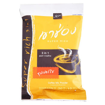 【蘋果市集】泰國KS曼谷原味特濃三合一咖啡200g*6袋 (20公克*10包/袋)