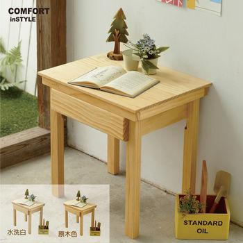 CiS [自然行] 兒童家具 兒童學習桌(水洗白色)