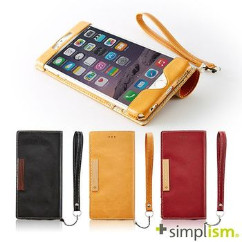 Simplism iPhone 6 Plus 超輕量側掀皮革保護套