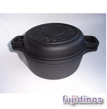 Fujidinos【及源鑄造】鑄鐵麵包烤鍋(中)