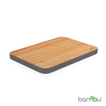 【Bambu】摩登系列-竹風砧板(中)銀鐵灰