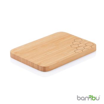 【Bambu】摩登系列-竹風砧板(蜂巢)